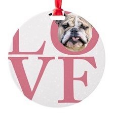 love3 Ornament