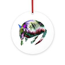 NEON ARMADILLO Ornament (Round)