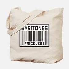 Baritones Priceless Barcode Tote Bag