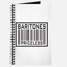 Baritones Priceless Barcode Journal