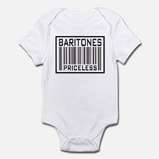 Baritones Priceless Barcode Infant Bodysuit