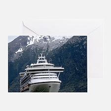 Cruise Alaska Greeting Card