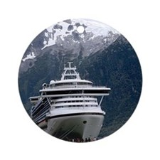 Cruise Alaska Round Ornament