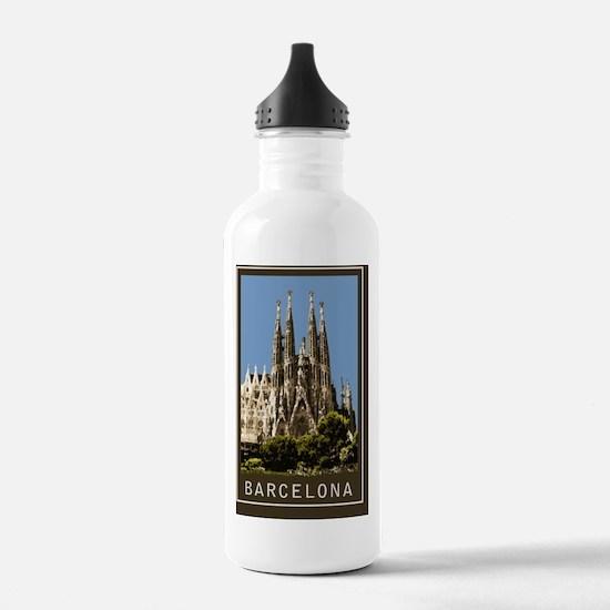 Sagrada Familia1Postca Water Bottle
