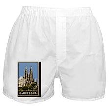Sagrada Familia1Postcard1 Boxer Shorts