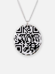team edward qr code t-shirts Necklace