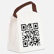 team edward qr code t-shirts by t Canvas Lunch Bag