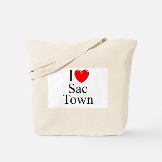 """""""I Love Sac Town"""" Tote Bag"""