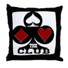 TheClub Throw Pillow