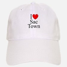"""I Love Sac Town"" Baseball Baseball Cap"