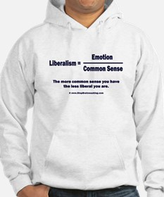 Liberalism is equal to Hoodie