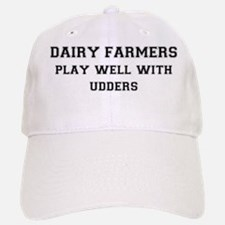 FIN-dairy-farmers-play-well-with-udders Baseball Baseball Cap