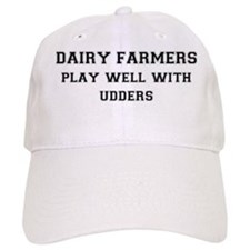 FIN-dairy-farmers-play-well-with-udders Baseball Cap