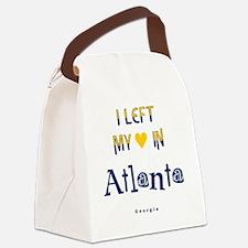 Atlanta_10x10_apparel_LeftHeart_B Canvas Lunch Bag