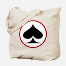 Spade Suit Tote Bag