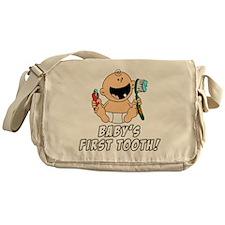 Babys First Tooth Messenger Bag