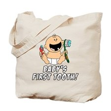 Babys First Tooth Tote Bag