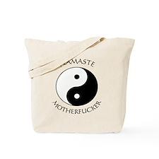 Namaste Motherfucker 4.pptx Tote Bag