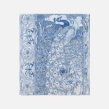 IPAD2-Peacock-Pair AN Throw Blanket