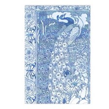 IPAD2-Peacock-Pair AN Postcards (Package of 8)