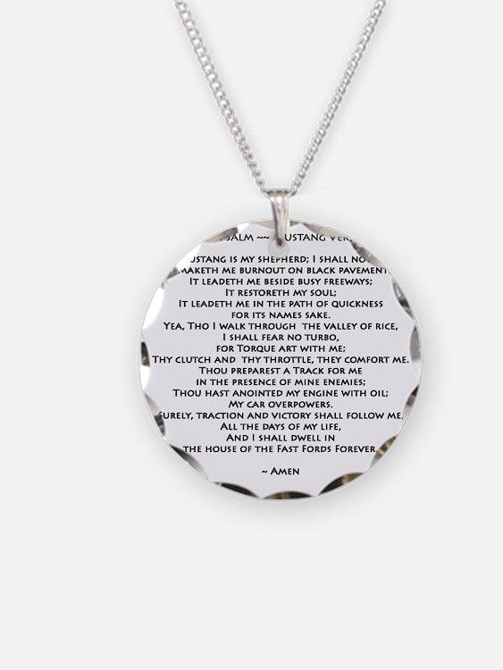 10x10_must psalmBKprntFlt co Necklace