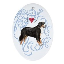 berner-oval charm Oval Ornament