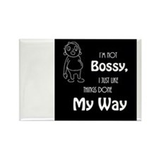 Im Not Bossy Rectangle Magnet