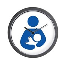 International Breastfeeding Wall Clock