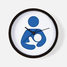 International Breastfeeding Wall Clock