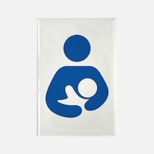 International Breastfeeding Rectangle Magnet