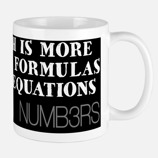 FormulasEquationsPillow Mug
