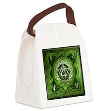 Anahata Chakra Canvas Lunch Bag