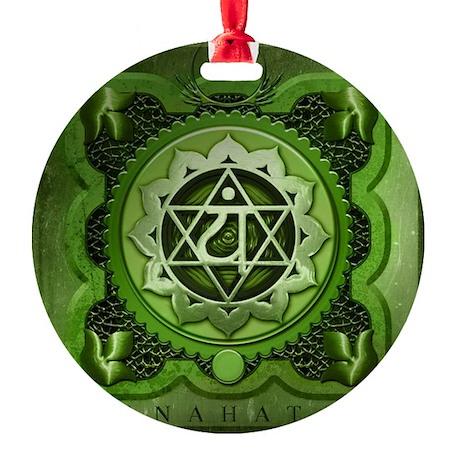 Anahata Chakra Round Ornament