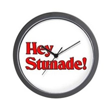 Hey Stunade! Wall Clock