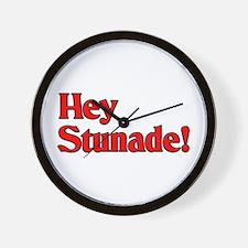Hey Stunade! Wall Clock