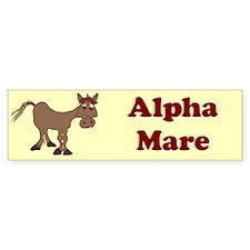 Alpha Mare Bumper Bumper Sticker