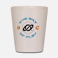 the art of play 20-dk Shot Glass