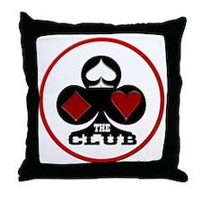 TheClub Logo Throw Pillow