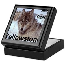 wolf_country_YNP Keepsake Box