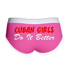 Cuban Girls Do It Better Women's Boy Brief