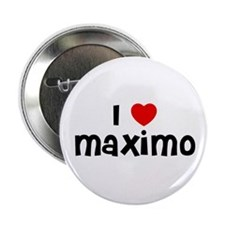 """I * Maximo 2.25"""" Button (10 pack)"""