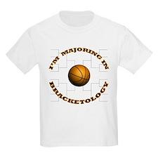 Bracketology Kids T-Shirt