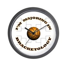 Bracketology Wall Clock