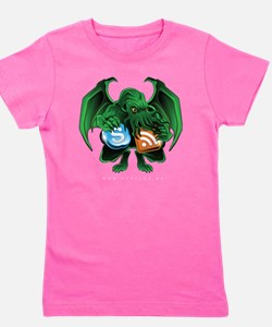CthulhuOnly Transparent 10x10 Girl's Tee
