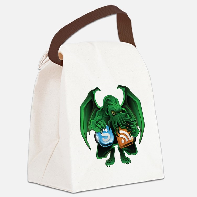 CthulhuOnly Transparent 10x10 Canvas Lunch Bag