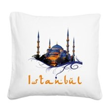 tshirt_bluemosque Square Canvas Pillow
