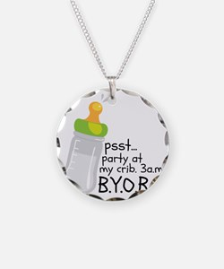 PSST... Party At My Crib. 3a Necklace