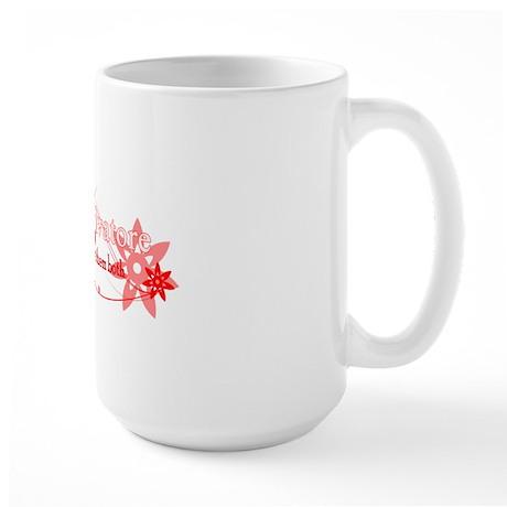 Team salvatore for blk Large Mug