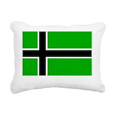 Vinland Flag Rectangular Canvas Pillow