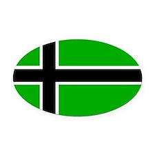 Vinland Flag Oval Car Magnet